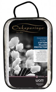 Onkaparinga Diamond Rose cushion Protector