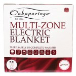 Multi-Zone Electric Blanket packaged