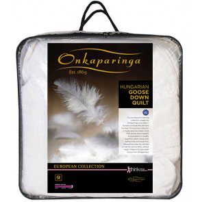 onkaparinga hungarian goose down quilt