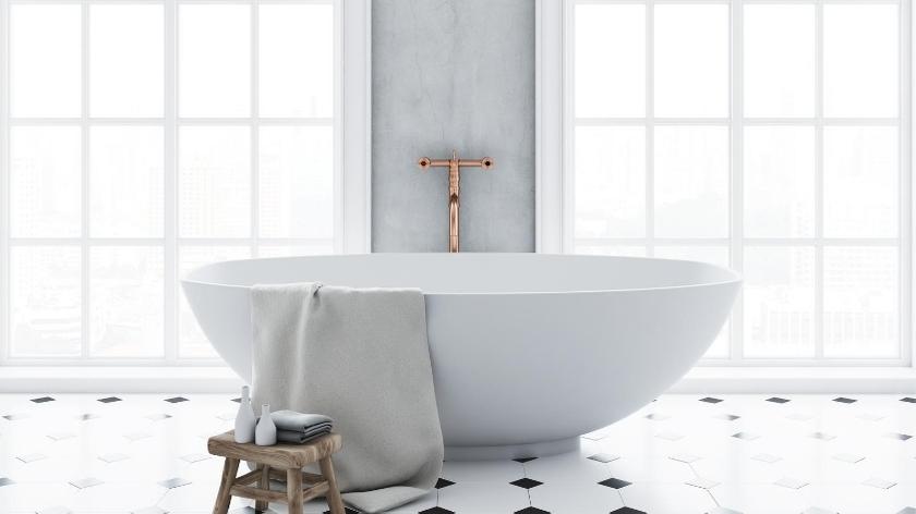 Bathroom styling Onkaparinga towels bathroom