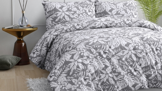 Australian native flowers bed linen
