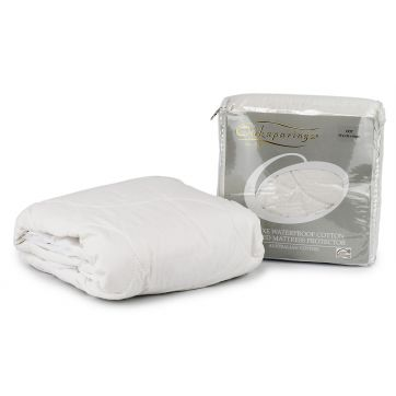 Deluxe Waterproof Cotton Quilted Mattress Protector