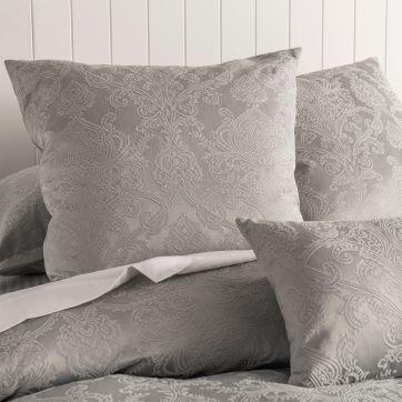Esther European Pillow Case Silver