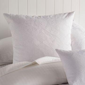 Esther European Pillow Case White