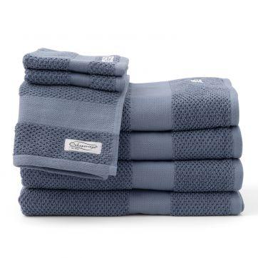 Rivet 7pc Bath Towel Set Denim