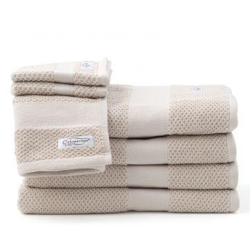 Rivet 7pc Bath Towel Set Linen