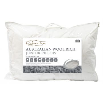 Australian Wool Rich Junior Pillow