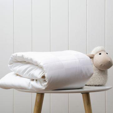 Australian Made Australian Wool Cot Size Quilt 250gsm