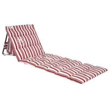 Onkaparinga Beach Chair Red Stripe