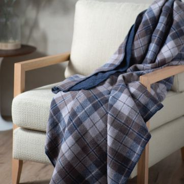HEIRLOOM AUSTRALIAN WOOL BLANKET CHECK