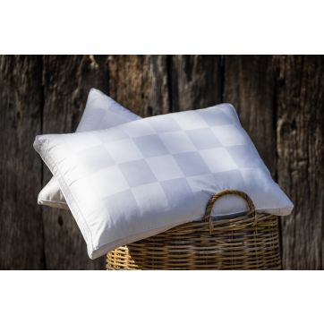 Australian Made Wool Rich Pillow - Medium Profile